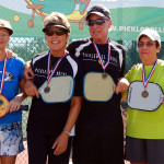 65+ Mixed Doubles: 1st Mark Stemerman and Kandy Aker, 2nd Lewis Lang and Jane Michelin, 3rd Jim Claycomb and Brenda Littlefield [DAY THREE: Sunday, October 27, 2013]