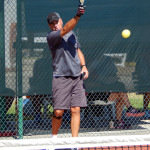 Mark Stemerrman Gold Medal Mens Double 60 + Pickleball Tournament Tampa Bay Senior Games 2013, Sun City Center