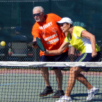 Mixed Doubles in Pickleball Tournament 2013 Tampa Bay Senior Games, Sun City Center [DAY THREE: Sunday, October 27, 2013]