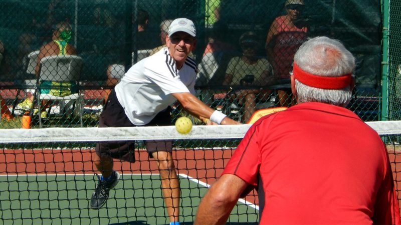 Pickleball Tournament Mens Doubles 50+ Tampa Bay Senior Games 2013, Sun City Center