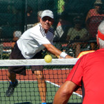 Power Slam in Men's Doubles Pickleball Tournament 50+ Tampa Bay Senior Games 2013, Sun City Center, FL [DAY TWO: Saturday, October 26, 2013]