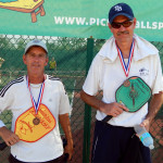 Steve Talner and William Hutton 3rd Mens Pickleball 50+ Tampa Bay Senior Games 2013