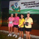 Winners in Womens Doubles Pickleball Tournament Tampa Bay Senior Games 2013 Sun City Center