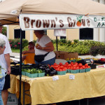 Browns Grove Produce since 1915 goes to Sun City Center for the monthly Jen's MarketPlace [staff photo]