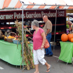 Farmer Petes Produce Market since 1962 sets up booth in Sun City Center every month at Jen's MarketPlace [staff photo]